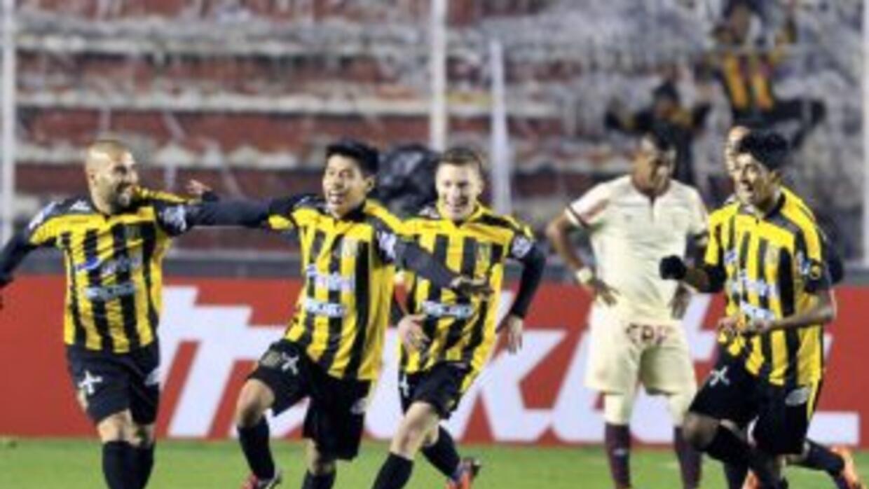 The Strongest ganó en casa ante el conjunto peruano.