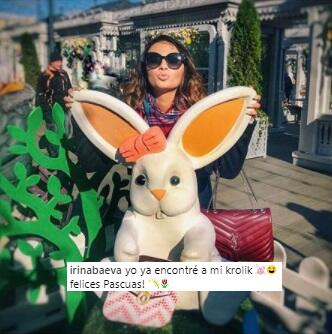 Irina Baeva le dice conejito a Gabriel Soto irina3.jpg