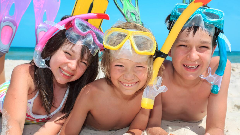seguridad piscina y playa niños