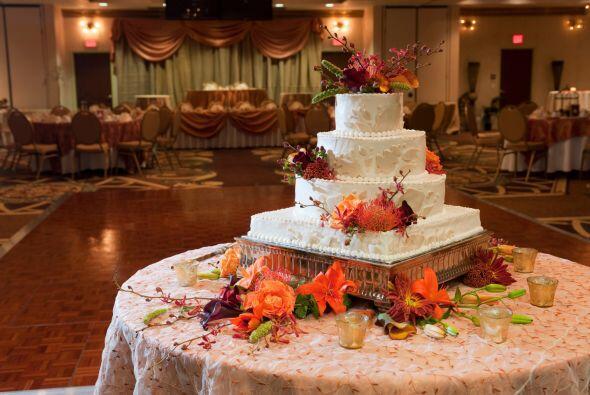 El pastel también puede tener un poco de otoño en sí mismo.