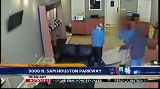 Captado en video: Asalto en Houston
