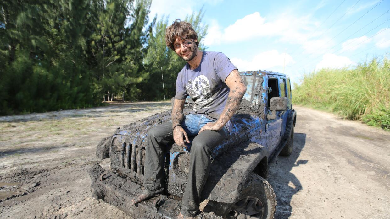 Despues de la prueba del Jeep Wrangler 2016 en los Everglades en Miami