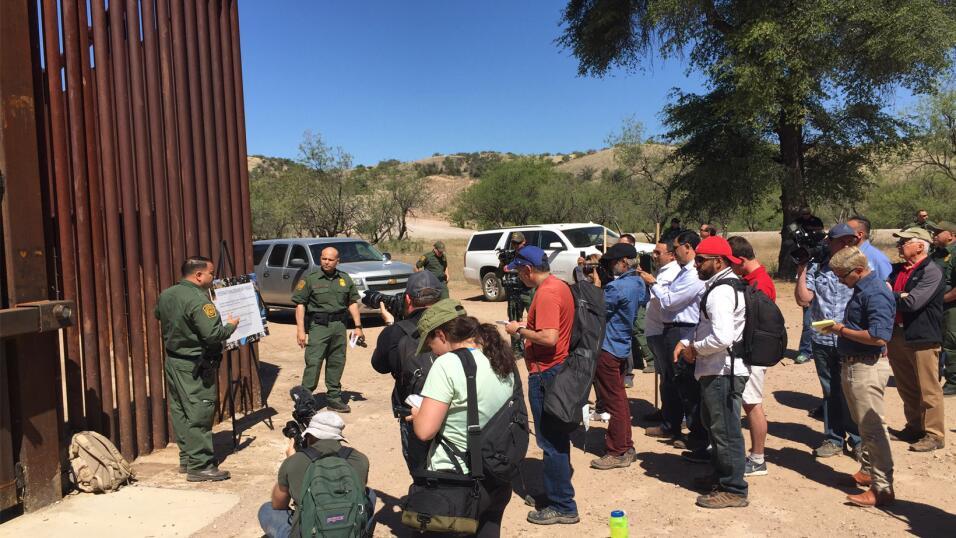 Tiroteo en el retén de la Patrulla Fronteriza en Arizona dejó a una pers...