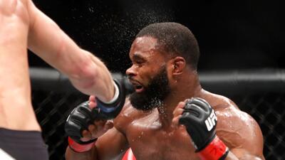 Las mejores imágenes de Woodley contra Thompson 2 en el UFC 209