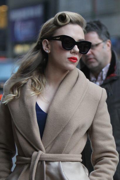 El estilo de Scarlett Johansson es otro que ha regresado con mucha fuerz...
