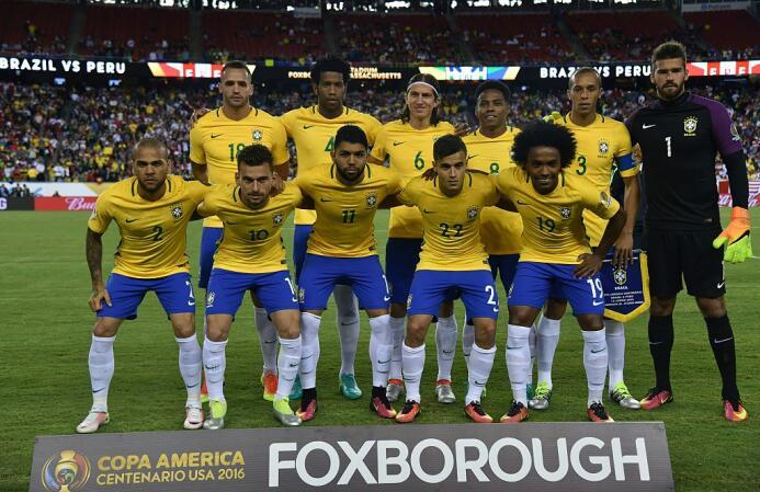 El ranking de los jugadores de Brasil vs Perú Brasil.jpg
