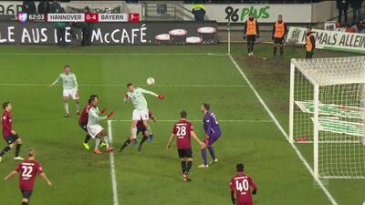 ¡El que faltaba! Lewandowski puso el 0-4 del Bayern