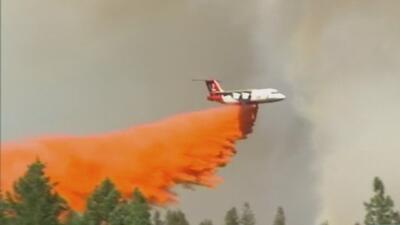 Decenas de incendios forestales arden en 5 estados del país