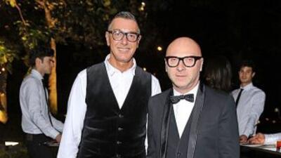 Los famosos diseñadores celebran que no irán a la prisión.