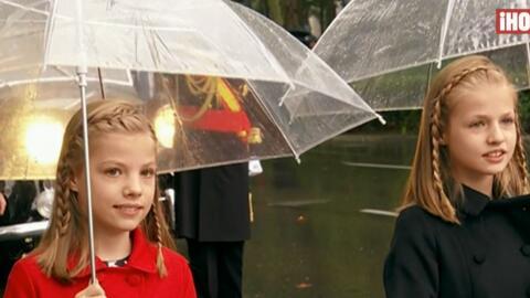 Los reyes de España en el Desfile de la Fiesta Nacional