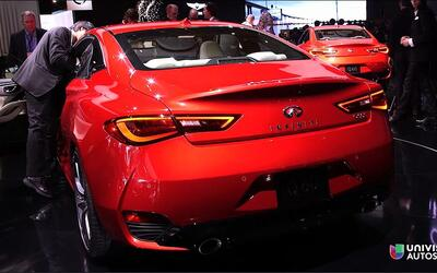 Detroit 2016: Infiniti Q60 2017 Coupe