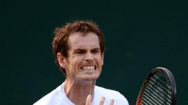 Murray respondió y remontó para alcanzar las semifinales en Wimbledon 2013.