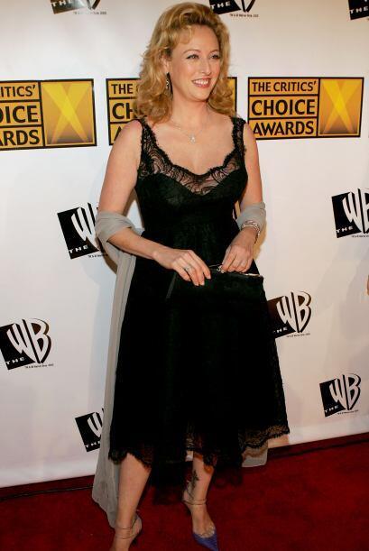 La actriz Virgina Madsen siempre se distingue por su elegancia.