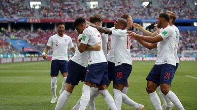 En fotos: Inglaterra goleó 6-1 a Panamá y pelea el liderato del grupo G del Mundial