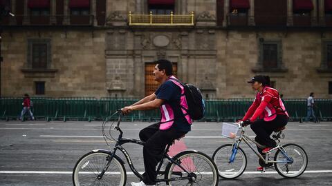 El día sin autos en Ciudad de México ha sido una buena med...