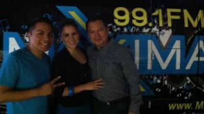 Danny Luna estuvo presente con Máxima 99.1 en el concierto de Hombres G...