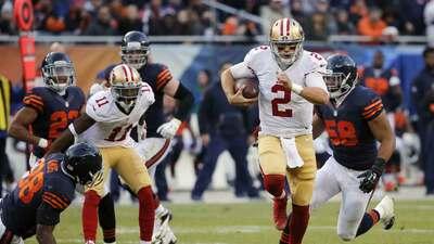 49ers 26-20 Bears (TE): Gabbert dejó mudo con sus brazos y sus velocidad...