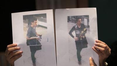 Identifican a los 2 iraníes con pasaportes robados en el vuelo de Malays...