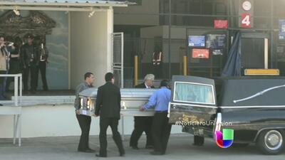 Familia recibe los restos de Gilberto Ramos, el niño que murió cruzando...
