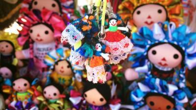 La muñeca otomí es originaria del municipio de Amealco, ub...