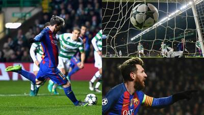 El show de Lionel Messi en Champions para ser un 'centenario internacional'