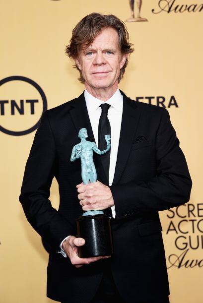 Muy merecido su SAG a William H. Macy, por Mejor actor en programa de co...