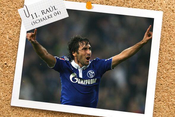 Finalmente, el español Raúl González parece que, como siempre lo ha hech...