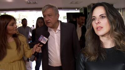 ¿Kate del Castillo podrá regresar a México? Andrés Manuel López Obrador habló sobre el caso de la actriz