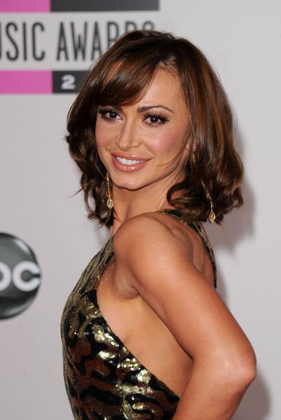 La bellísima bailarina de 'Dancing with the Stars' Karina Smirnoff es la...