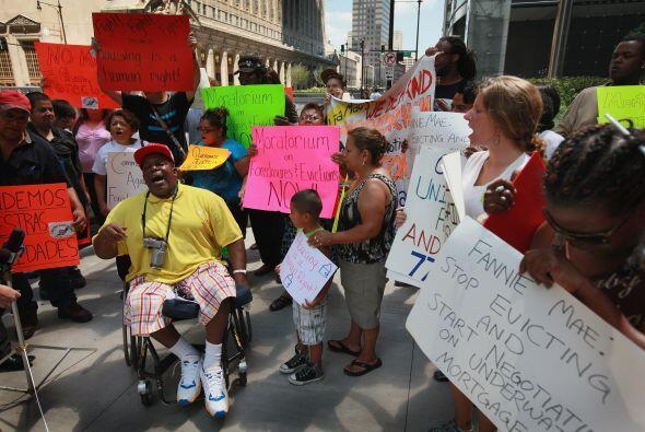Miembros de Occupy Chicago salieron a las calles para protestar contra l...