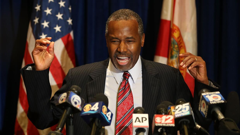 """Ben Carson: """"A Obama no lo escudriñaron tanto"""" carsonflorida.jpg"""