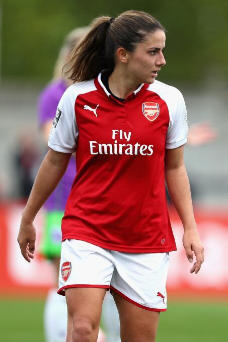 11. Danielle Van Donk (Holanda / Arsenal F.C.) - 13 puntos