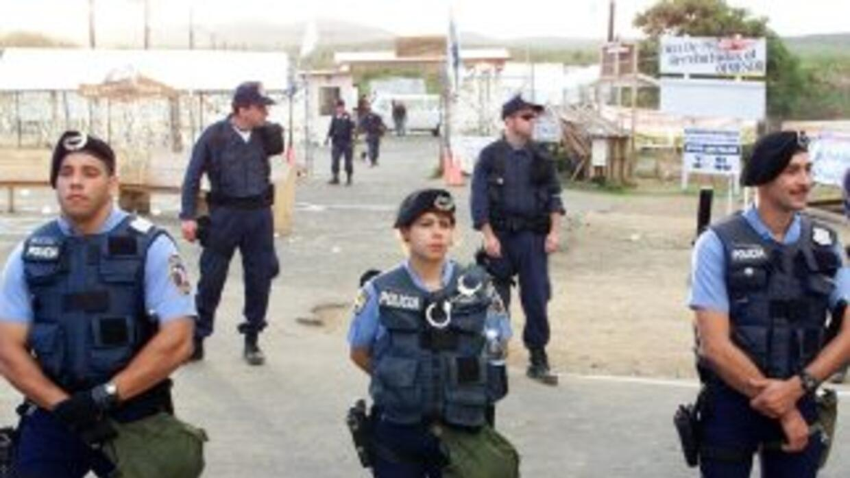 En el tiroteo resultaron heridas varias personas, que la Policía identif...