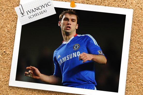 Un habitual de nuestros Onces es el ruso Branislav Ivanovic. Una vez más...