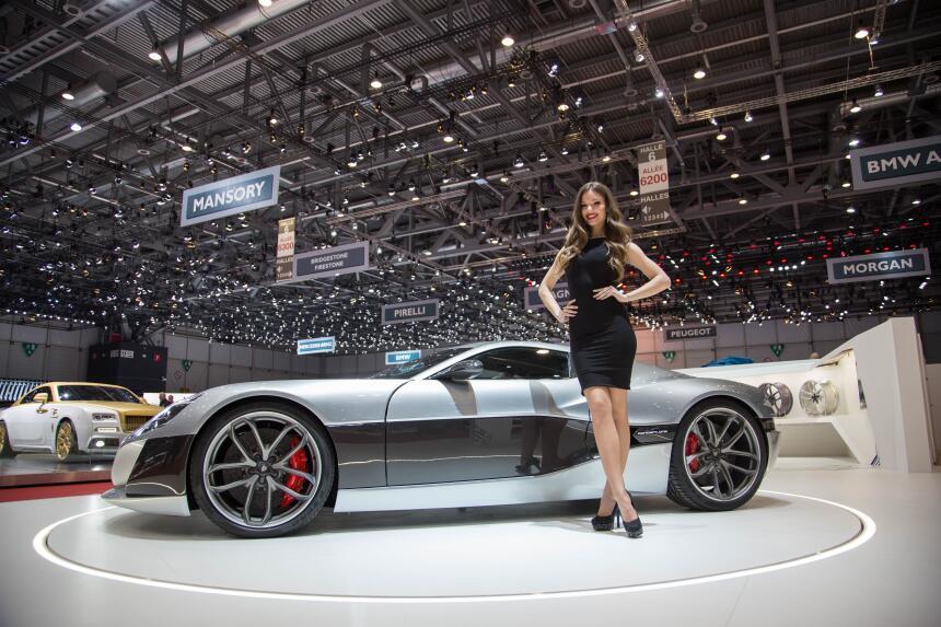 Imágenes del Rimac Concept_One, el auto eléctrico más rápido del 2016 ge...