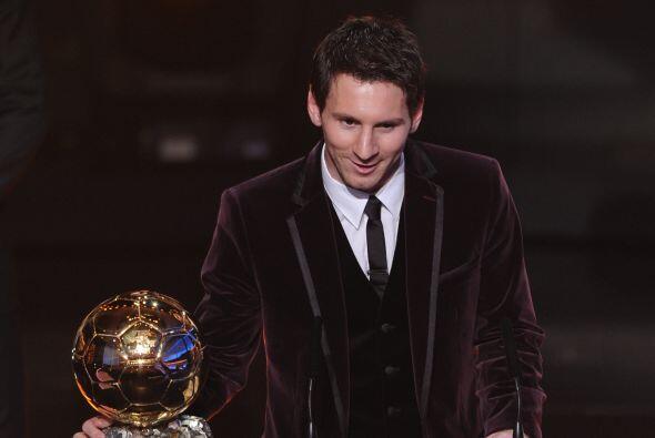 Los grandes logros en el 2011 con el Barcelona ayudarían a Messi a conse...