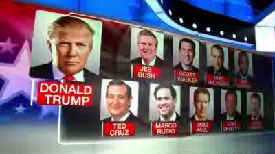 El debate y el desafío de los 10 precandidatos republicanos