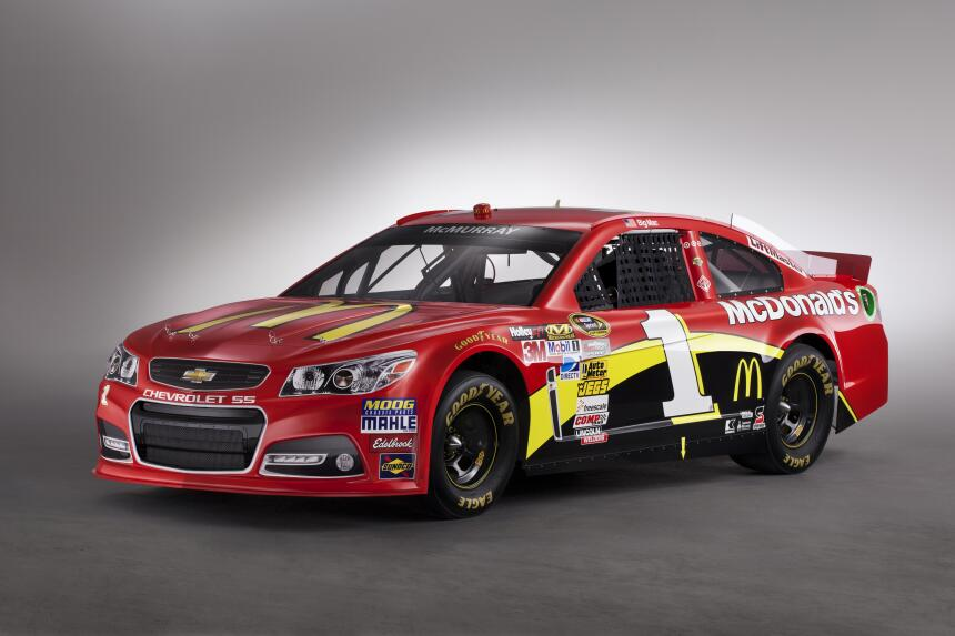 El Camaro se apodera de todo el esfuerzo de Chevrolet en NASCAR 2013-NAS...