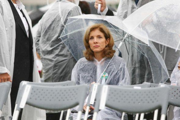 Fue la primera visita de Kennedy a Hiroshima desde que asumió el cargo e...
