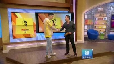 Brytiago se presenta en Despierta America por primera vez y recibe sorpresa de Daddy Yankee