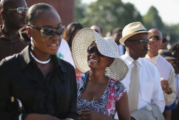 """""""Queremos que estén fuertes"""", señaló Markesha Coleman, una de las ciudad..."""