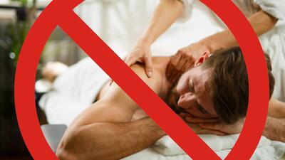Cierran cientos de salas de masajes en EEUU por ser fachada para la prostitución
