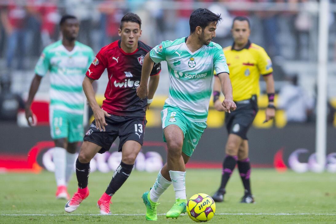 Atlas y Santos reparten puntos Diego de Buen Santos y Javier Salas Atlas...