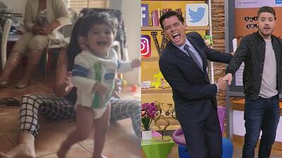 Pasito a pasito: El hijo de Orlando Segura ya empezá a caminar
