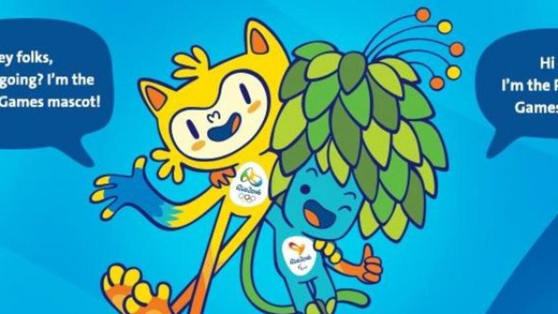 El Cómite Olímpico señaló que están inspiradas en la fauna y la flora br...