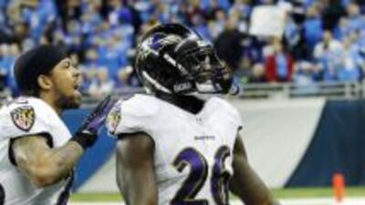 Matt Elam provocó a Calvin Johnson, pero lo respaldó en el campo (AP-NFL).