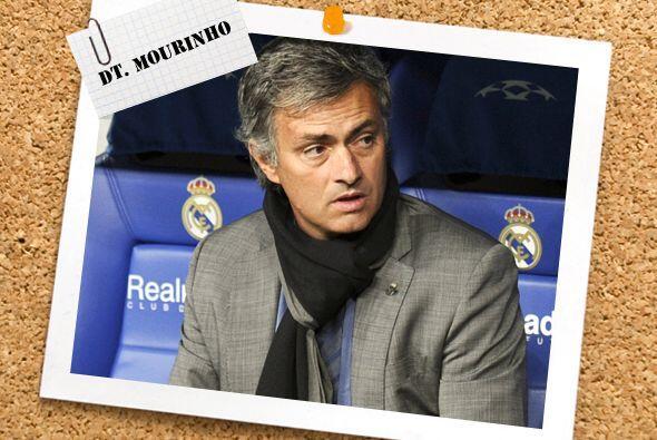 Como técnico, una vez más tenemos a José Mourinho, que poco a poco parec...