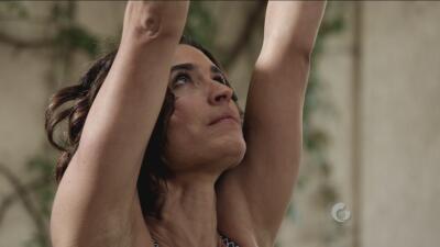 Yoga con Luz: Postura Guerrero uno con talón arriba