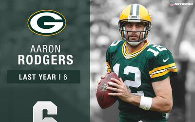 #6: Aaron Rodgers (QB, Packers) | Top 100 Jugadores 2017