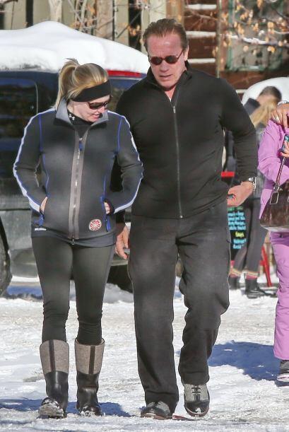 No cabe duda de que Arnold Schwarzenegger es un hombre de acción 24/7.